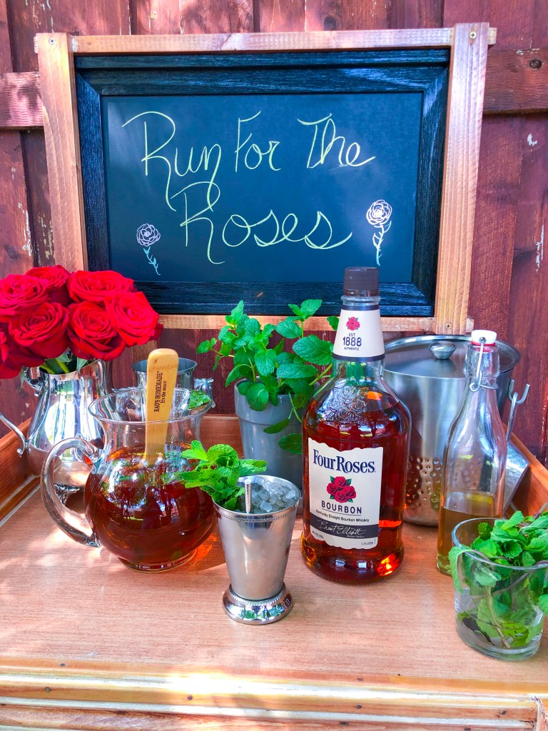 Best Mint Julep Recipe, Mint Simple Syrup, Kentucky Derby Recipe, Mint Julep Pitcher | The Rose Table