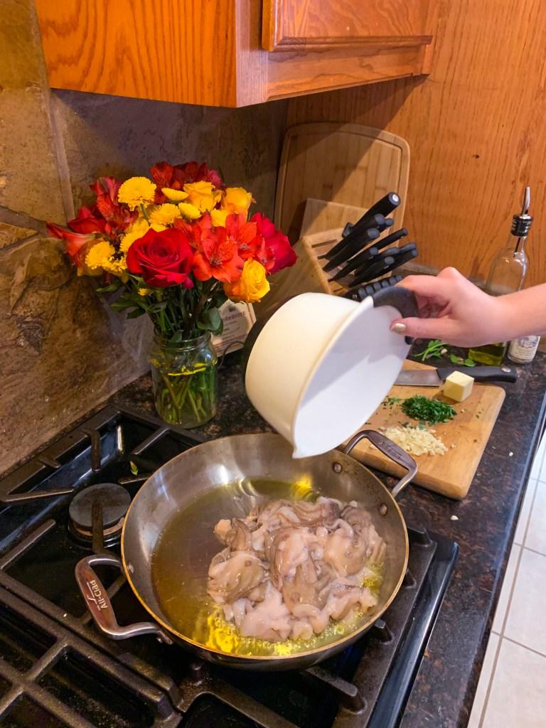 Best way to cook baby octopus