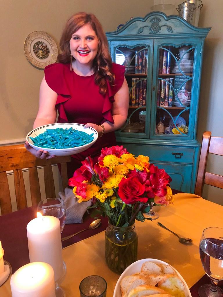KreeBlood Pasta, Captain Marvel Party Food Recipe