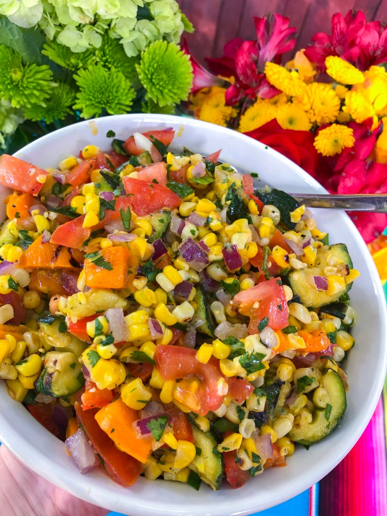 Mexican Street Corn Salad | The Rose Table