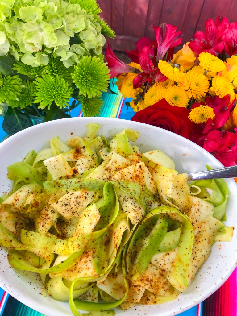Mexican Zucchini with Chili Powder and Lime | The Rose Table