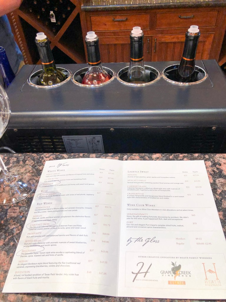 Grape Creek Vineyards Fredericksburg Texas Wine