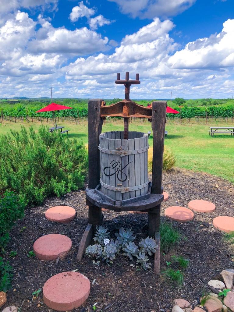 Kuhlman Cellars Stonewall Texas Hwy 290 Vineyard
