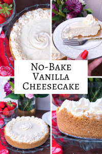 Vanilla No-Bake Cheesecake