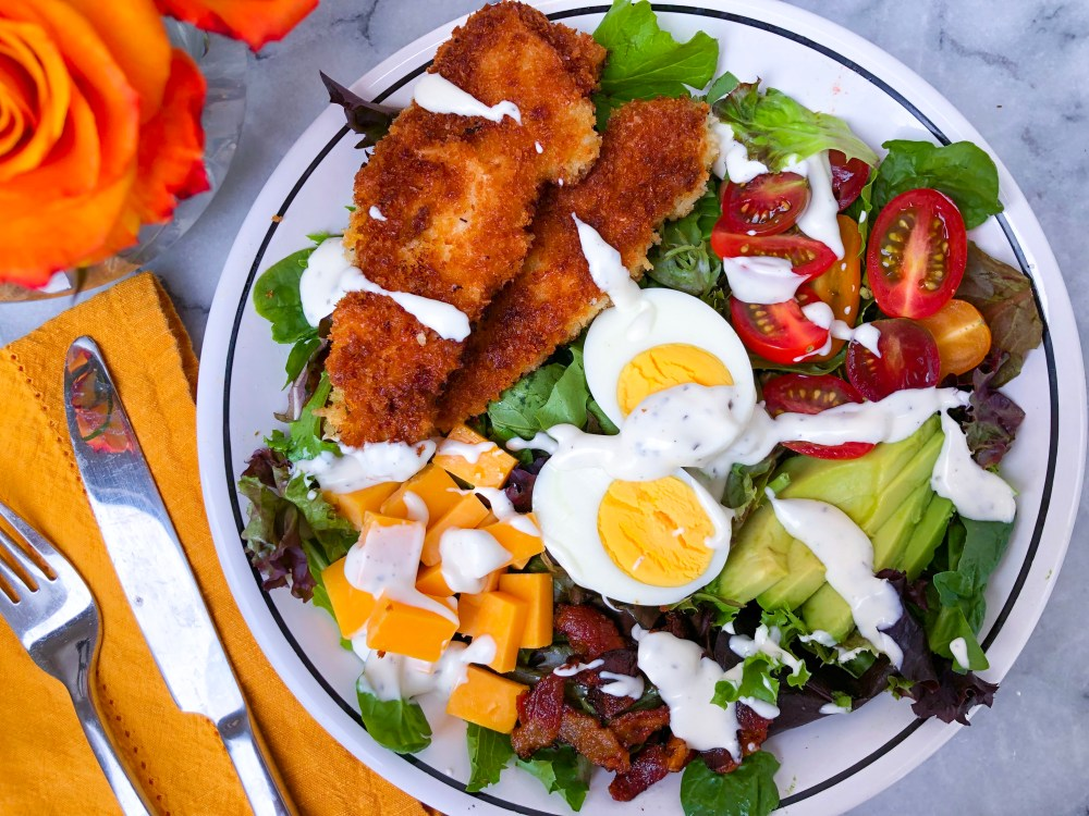 Chicken Tender Salad