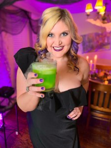 Foolish Mortal, Haunted Mansion Halloween Green Cocktail