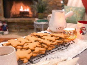 Maple Gingerbread Men Cookies