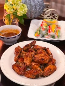 Baked Honey Chicken Wings