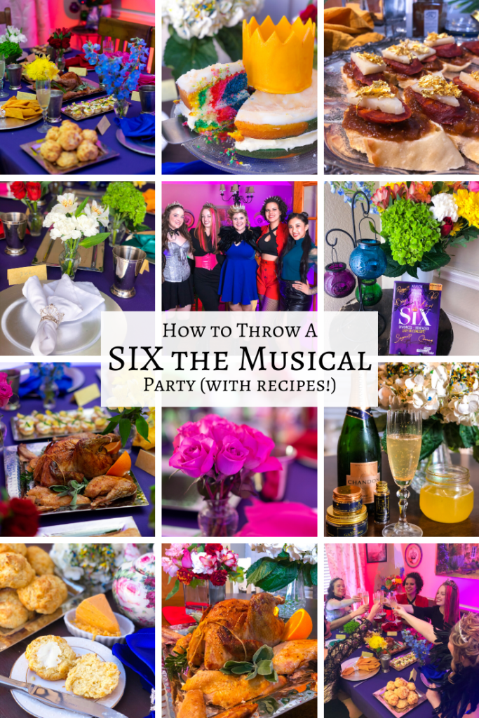 SIX the Musical Broadway Party Ideas