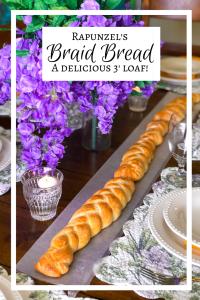 Rapunzel's Braid Bread, Disney Recipes