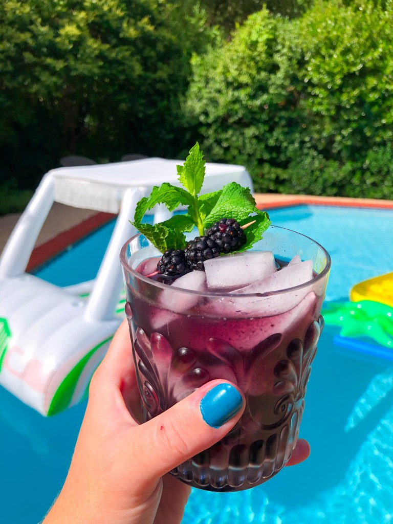 Blackberry Smash Cocktail Recipe