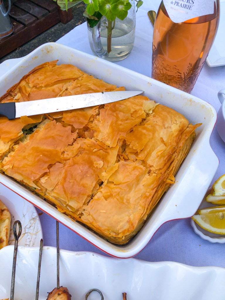Best Recipe for Greek Spanakopita