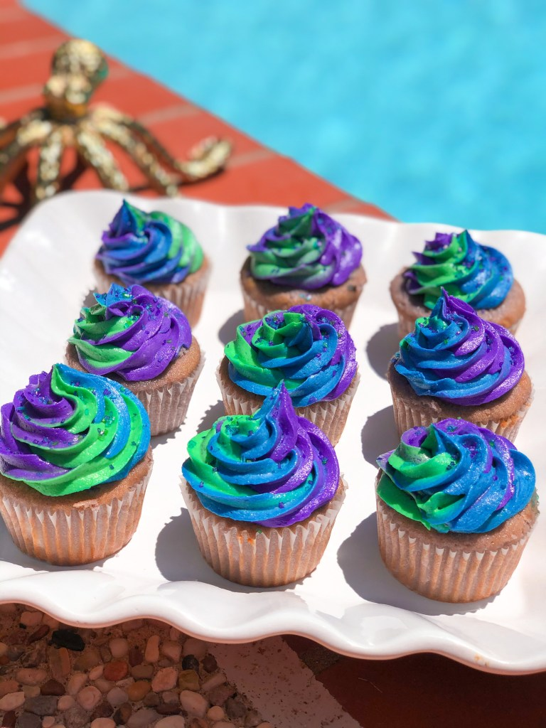Sea Witch Cupcakes