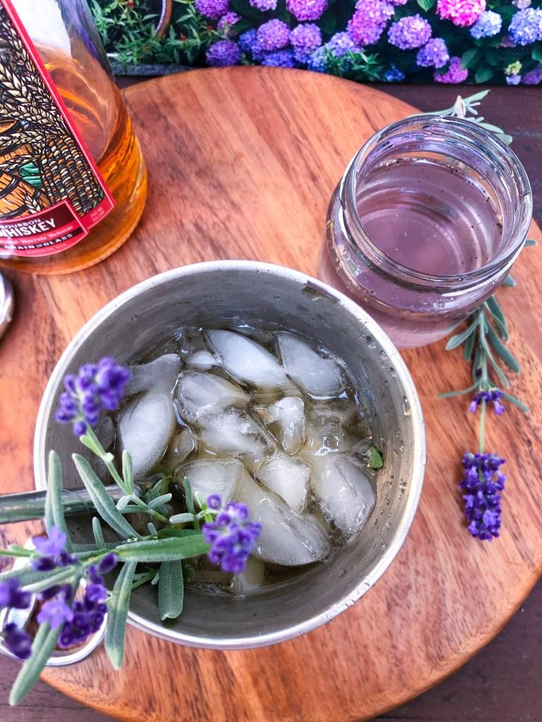 Lavender Julep Cocktail Kentucky Derby Bourbon