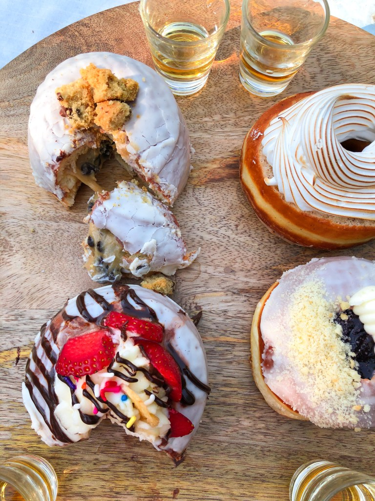 The Salty Donuts, Donut and Bourbon Whiskey Tasting