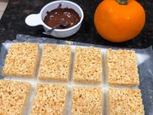 Maple Rice Krispy Treats
