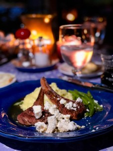 Blue Bayou's Lamb Dinner for Two