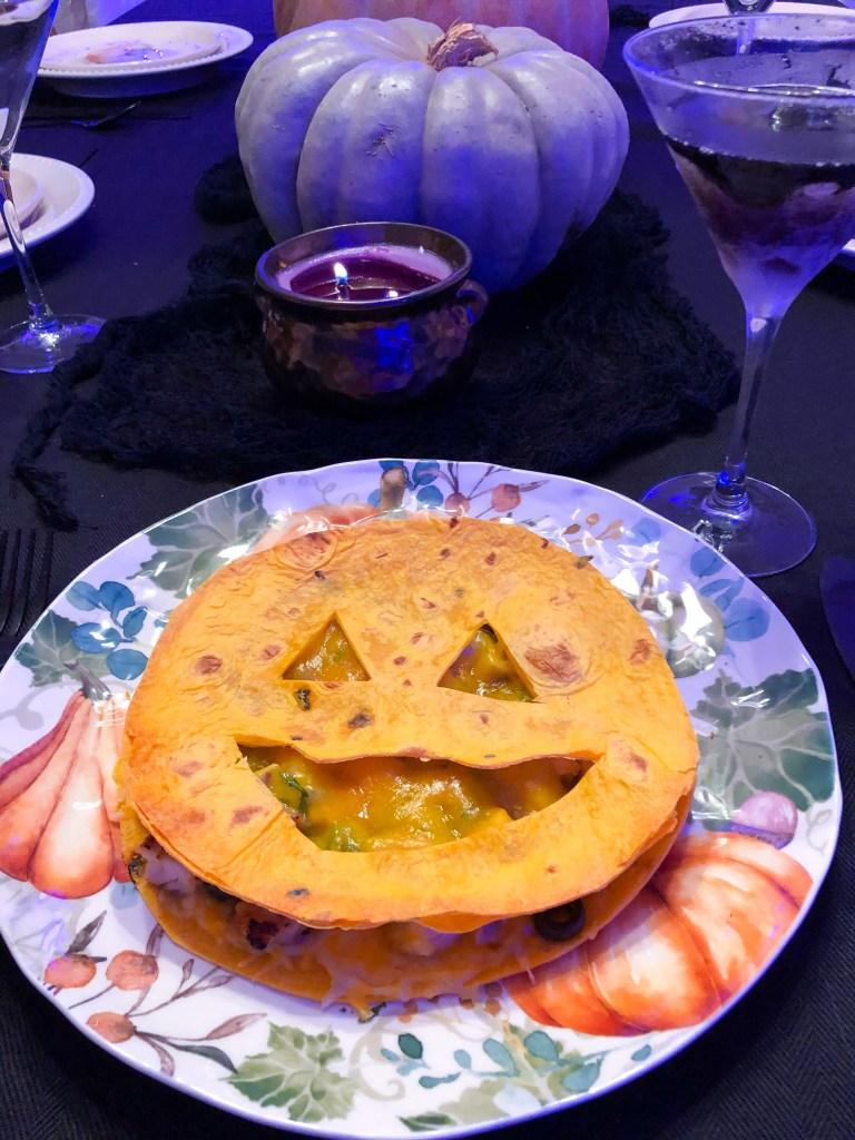 Jack-o-Lantern Quesadillas, Halloween Dinner Ideas