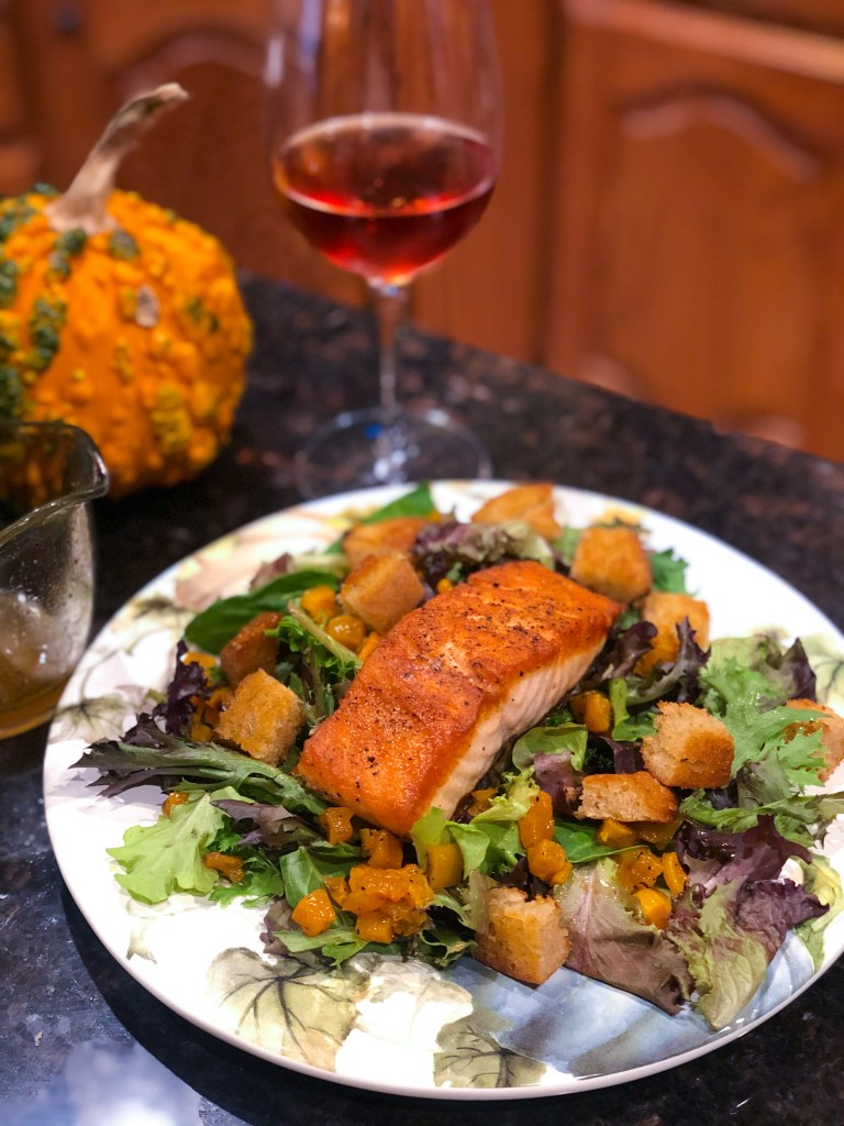 Fall Salmon Salad
