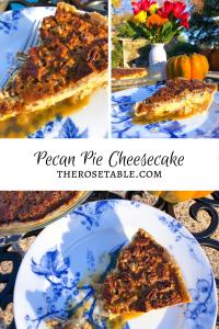 Pecan Pie Cheesecake, Thanksgiving Dessert