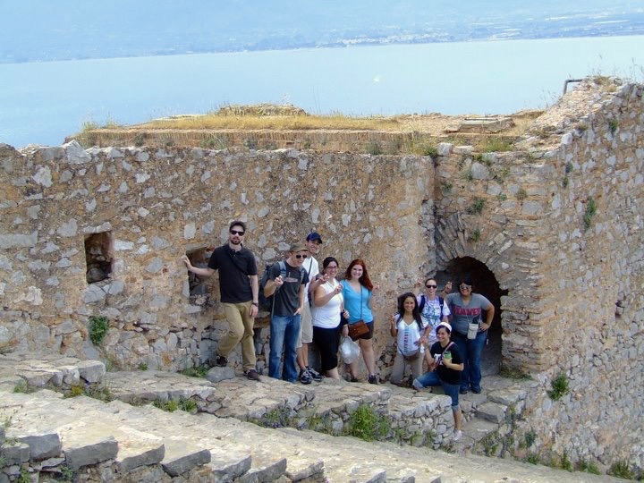 Visiting Palamidi in Nafplio Greece