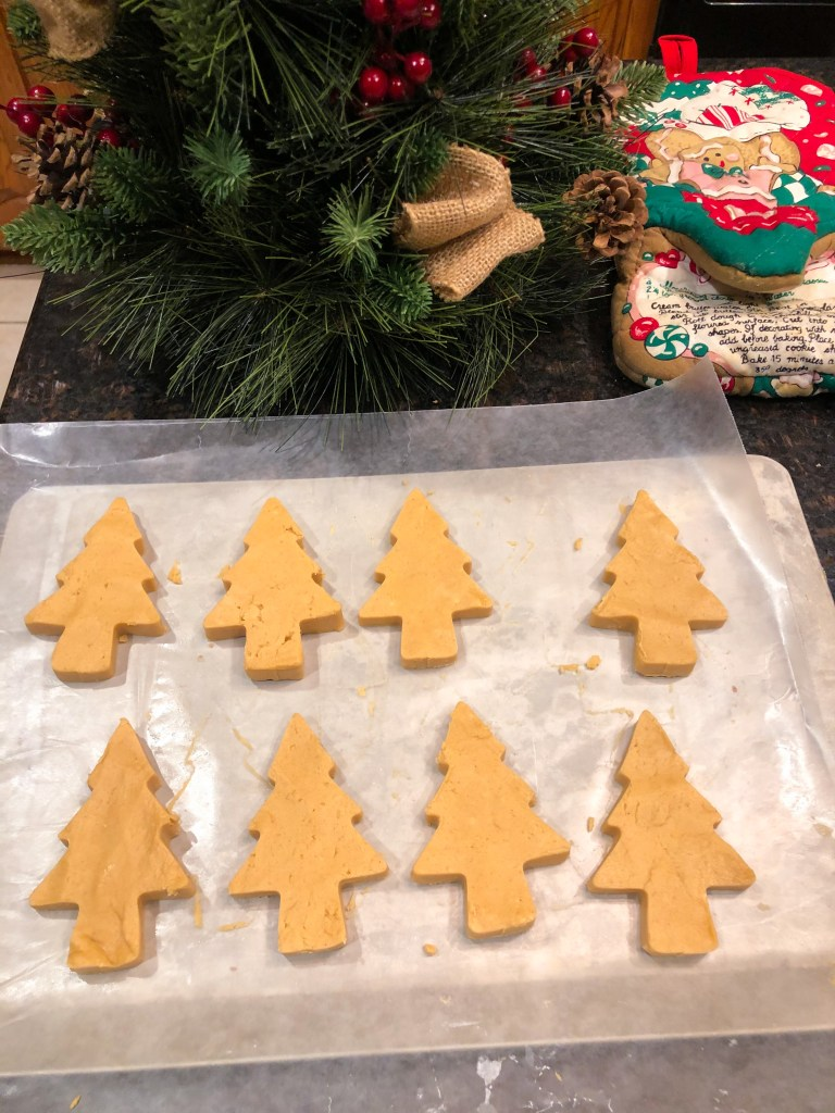 Peanut Butter Trees, Homemade Christmas Candy