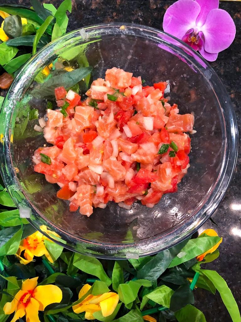 Lomi Lomi Salmon Recipe Hawaiian Food