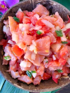 Lomi Lomi Salmon Recipe Hawaiian Food