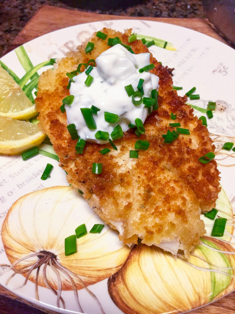 Pan-fried Tilapia