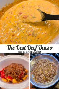 The Best Beef Queso | Tex-Mex Recipes