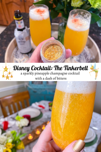 Tinkerbell Disney Cocktail