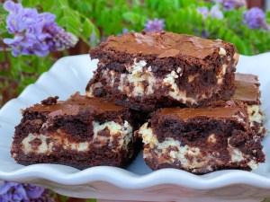 Chocolate Chip Cheesecake Brownies | Brownie Mix Recipe