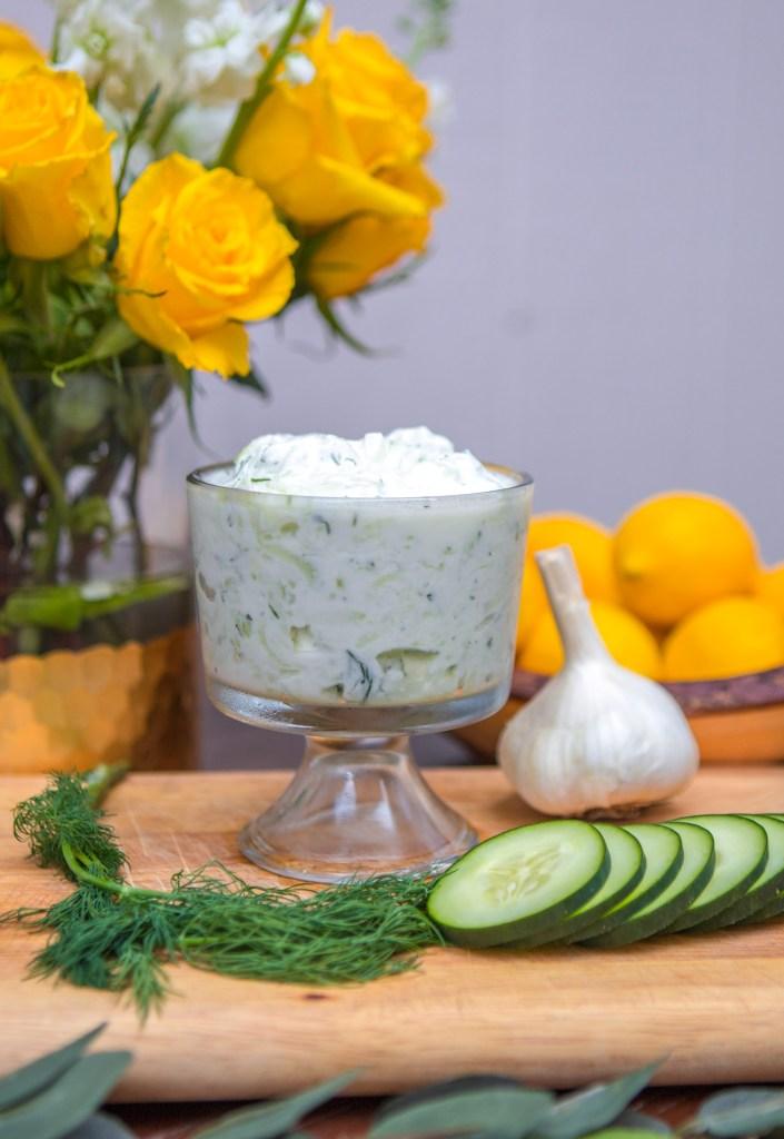 Authentic Greek Tzatziki Recipe