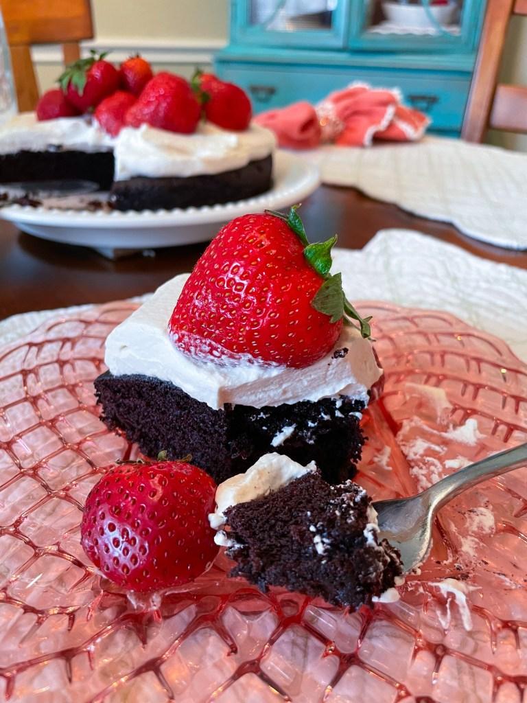 Chocolate Strawberry Torte | Garden Party Dessert