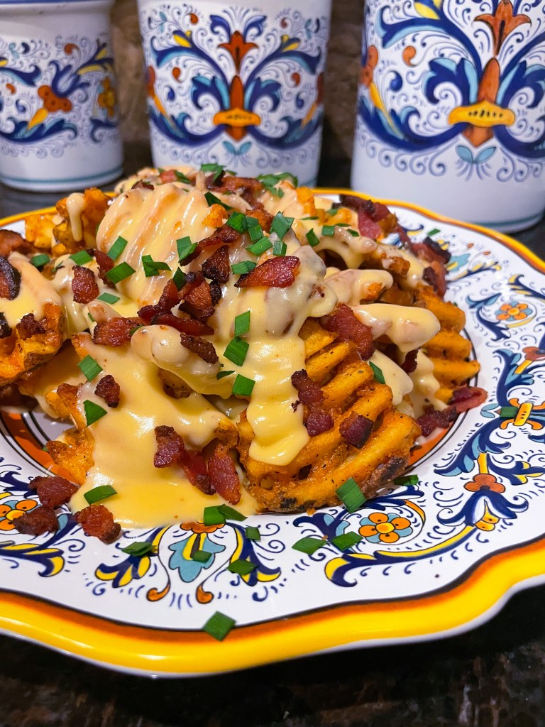 Smothered Cheese Fries, Easy Recipe
