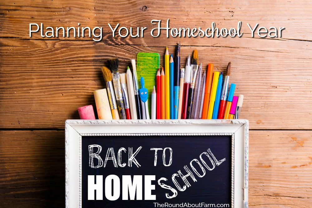 Planning Your Homeschool Year