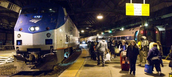 Ridin' on Amtrak's Capitol Limited