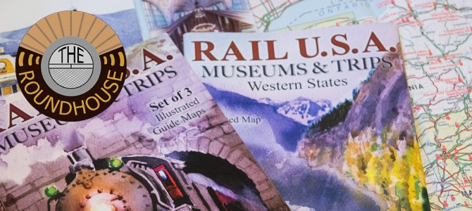 017:  Top Ten Railfan Travel Items, Rail U.S.A. Maps