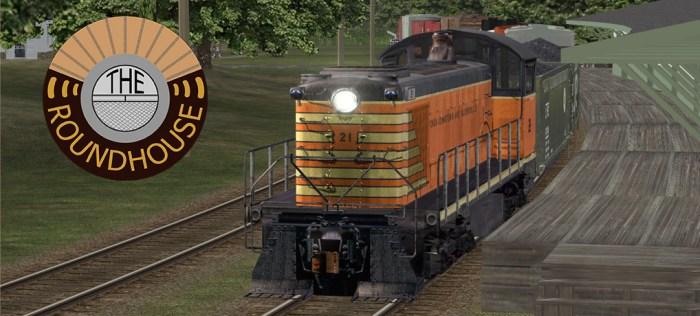 Train 61 arrives in Johnstown to begin work on the Fonda Johnstown & Gloversville Railroad.