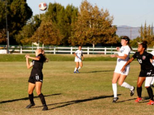 Soccer game between Pierce College and College of the Canyons, score is 0-0, Adriana Sosa is number 11 attack for Pierce, on soccer field, Pierce College, on Nov. 11 2016, Woodland Hills, Clif., photo by Abdolreza Rastegarrazi/Roundup.