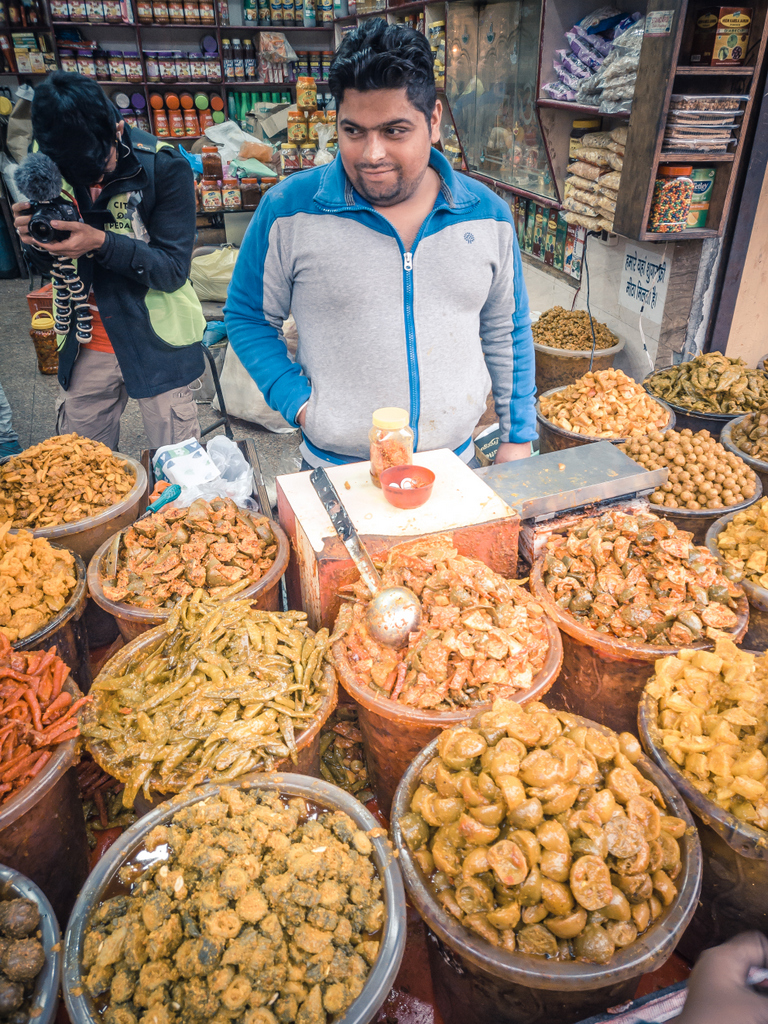 Pickle Shop in Amritsar.