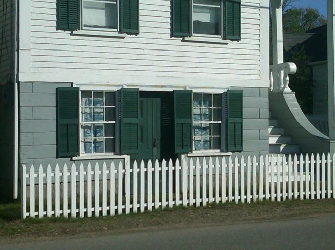 A 19th century house