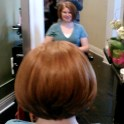 Beautiful round graduated a-line bob