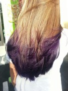 Royal Purple Hair Color Tips