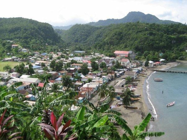 St Lucia village