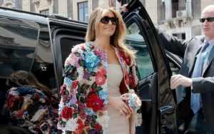 First lady, Melania Trump.