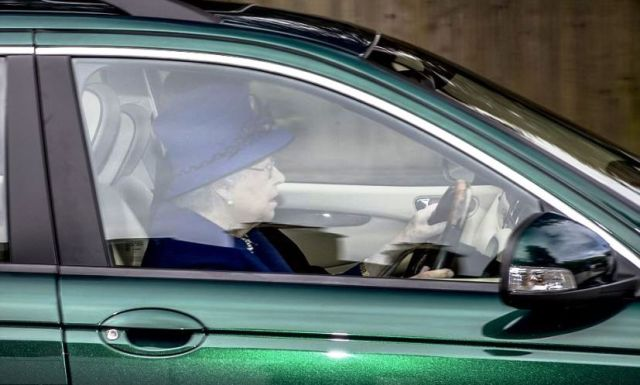 The Monarch is the only person in the UK who is not required to hold a driving licence and has often been photographed driving around her Sandringham estate.