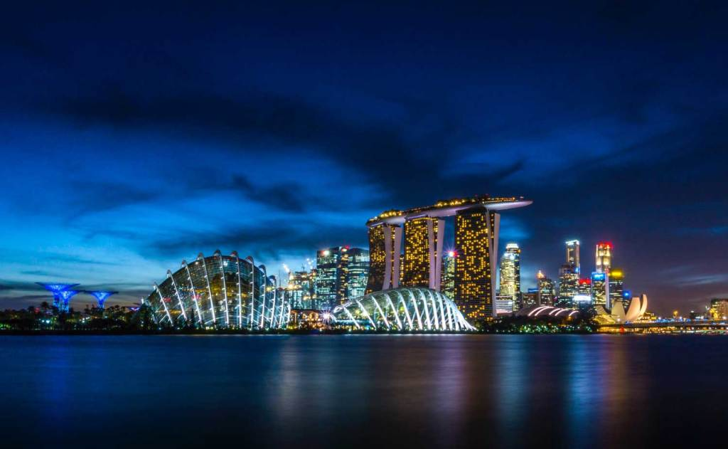 The Iconic Singapore Skyline