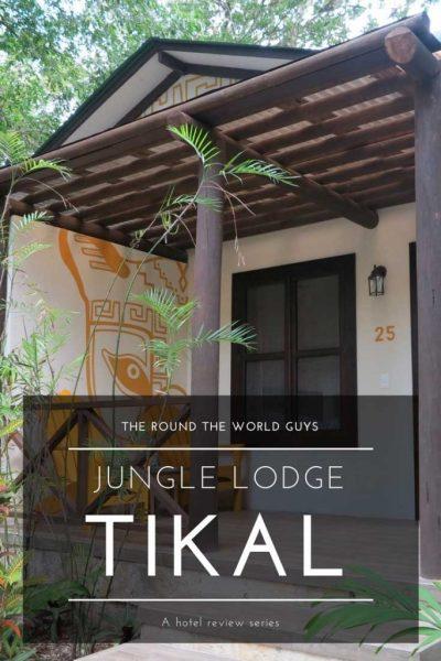 jungle lodge tikal title page