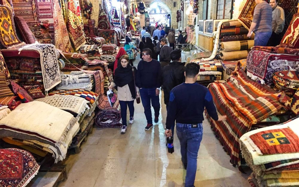 Is Iran safe for tourists - The Grand Bazaar in Tehran